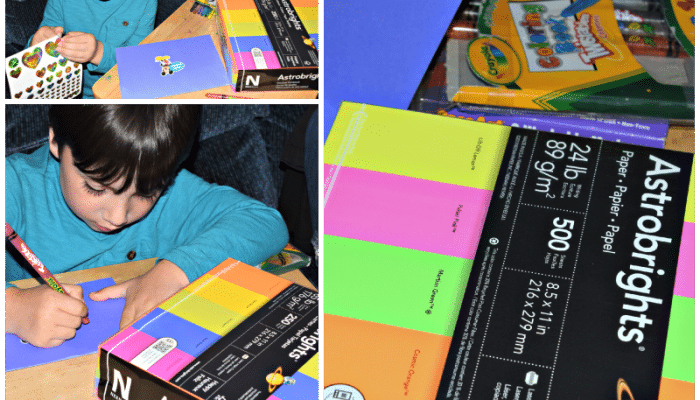 Creating cards with Neenah Astrobrights