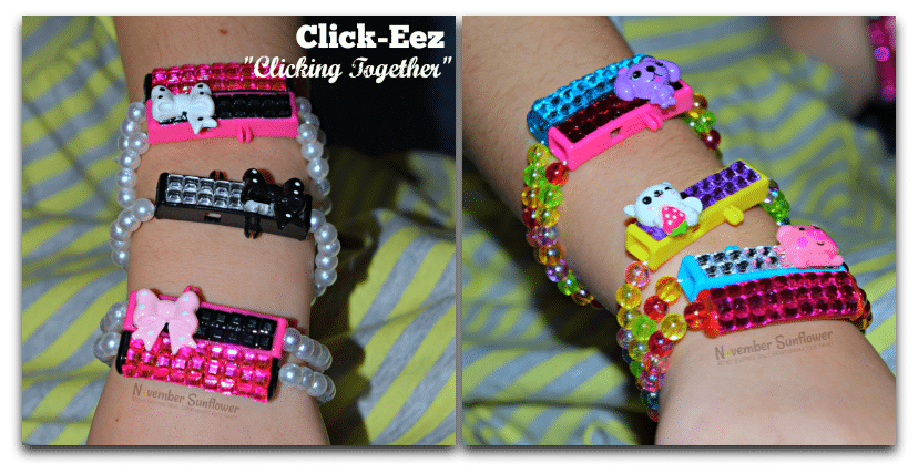 click-eez stackable jewelry #sponsored #kidsfashion