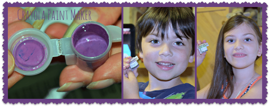 make your own washable paint #crayola #sponsored #toyreview