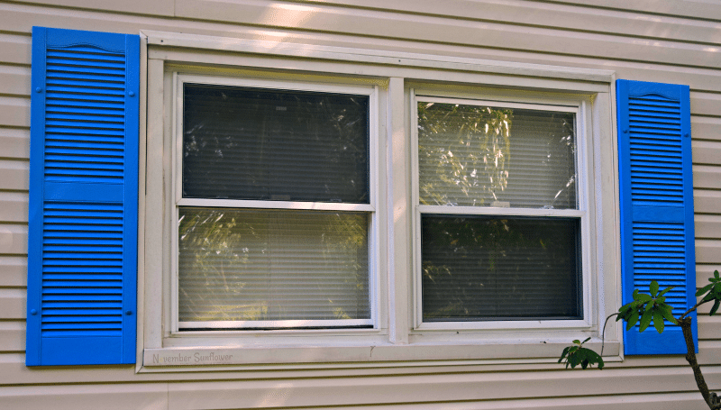 diy project #diyproject updating vinyl shutters