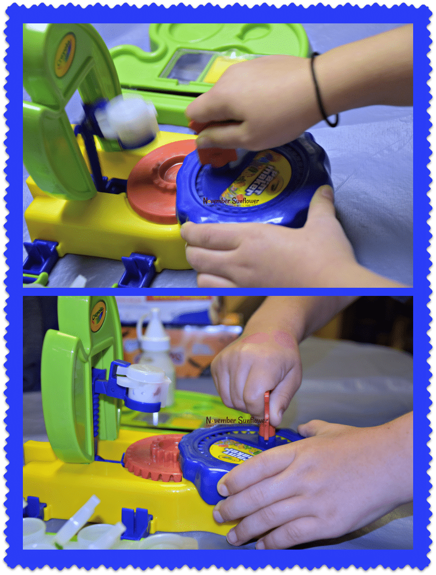 make your own paint #crayola #sponsored #toyreview