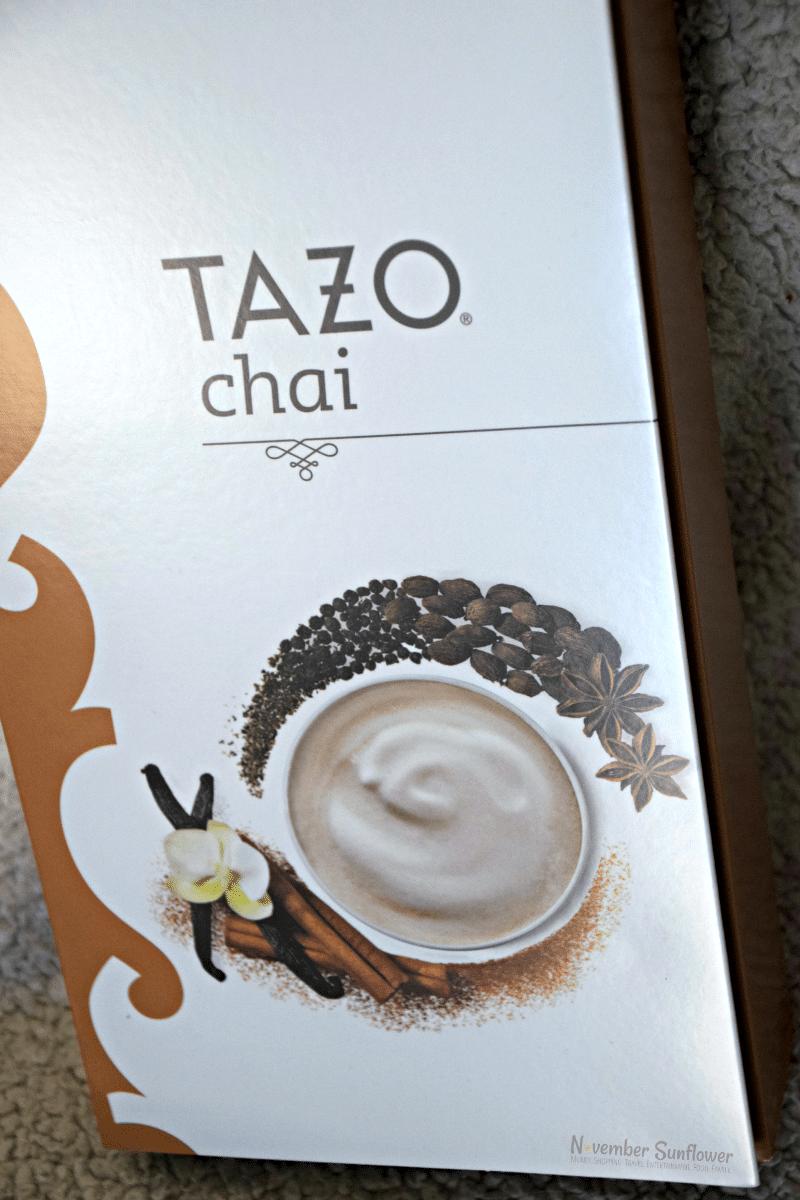 #sponsored #tazotea #chai