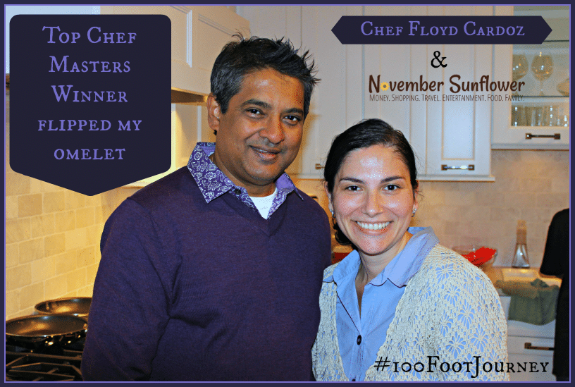 top chef masters winner flipped my omelet #sponsored #100footjourney #disney