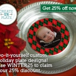 a unique holiday table #createurplate #holidays #ad