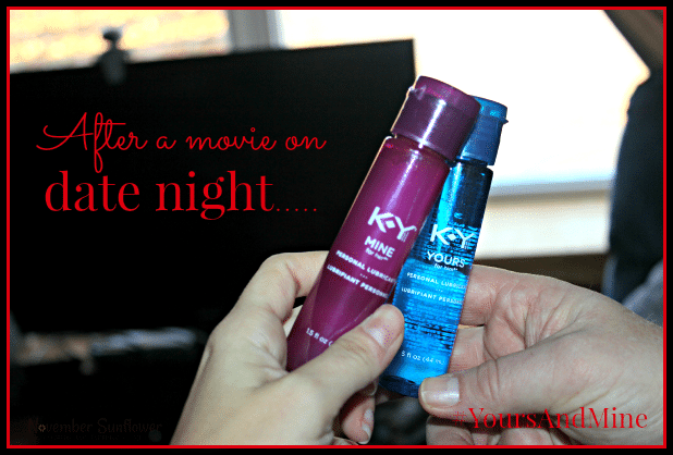 Spice things up for date night #yoursandmine #cbias #sponsored
