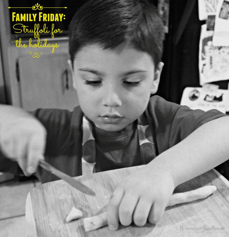 family friday struffoli for the holidays #struffoli #holidays