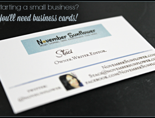 Starting a small business? You'll need business cards