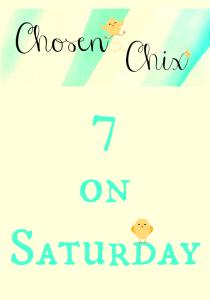Chosen Chix 7 on Saturday #ChosenChixHop #ChosenChixCollective