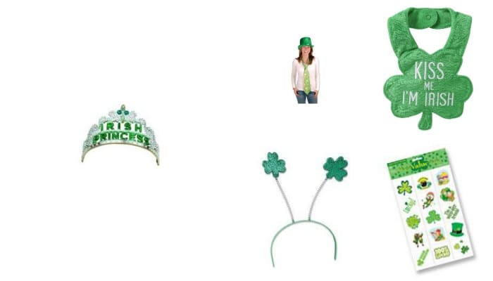 top 5 st patrick's day accessories #stpatricksday #stpatsday #top5