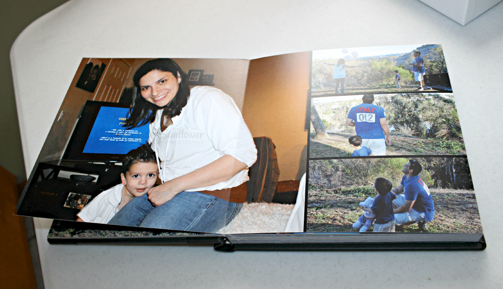 Montage family layout #montage #photobook #ad