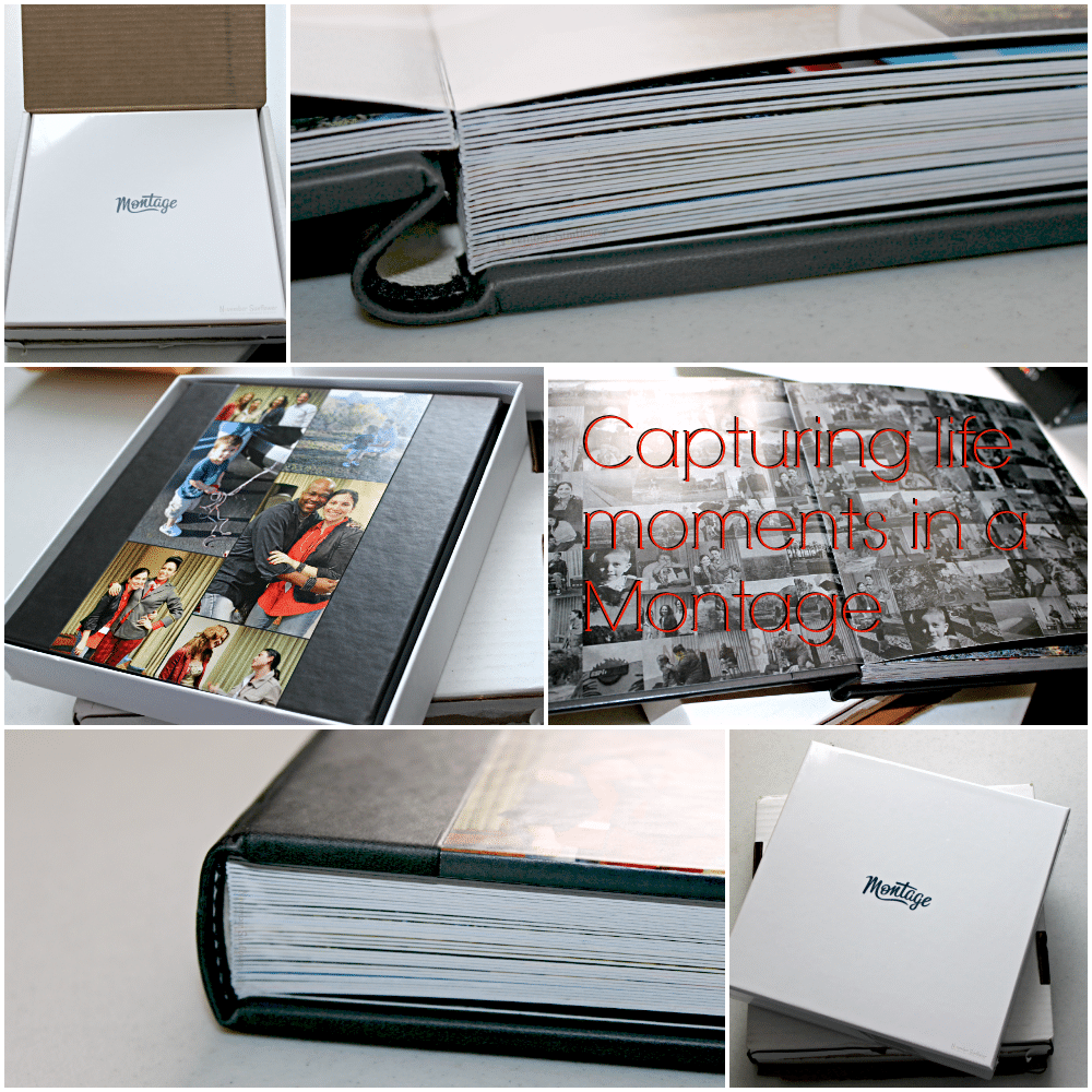 capturing memories in a montage #montage #photogift #ad