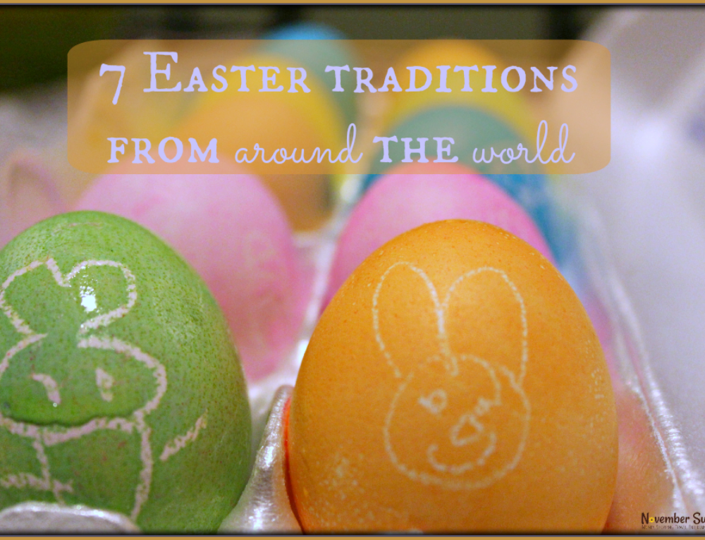 Seven Easter traditions from around the world