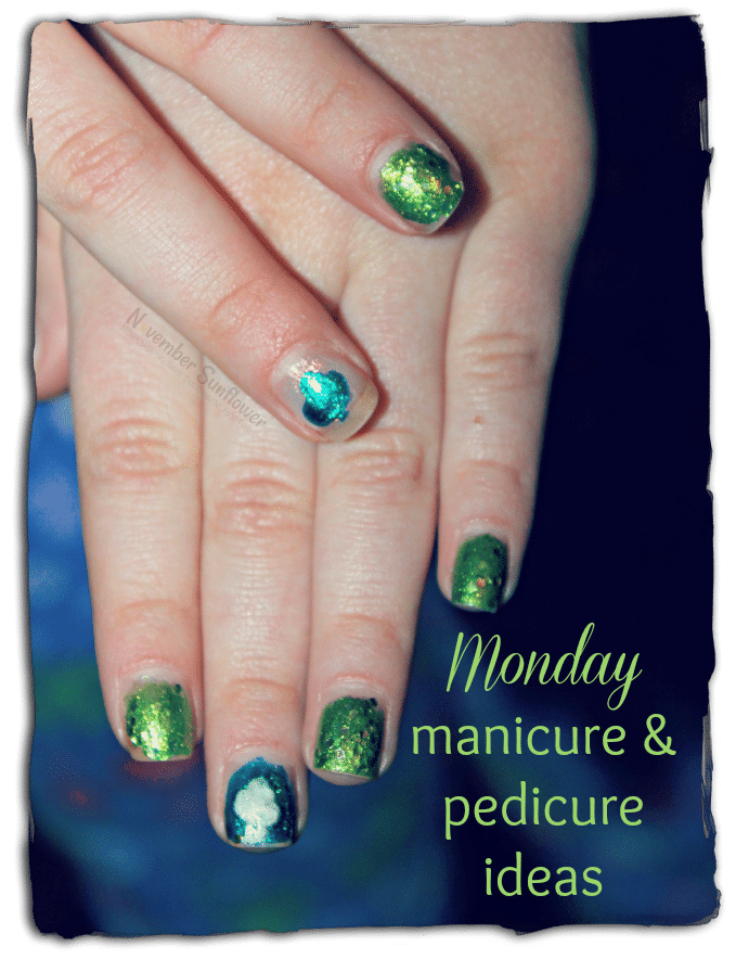 monday manicure and pedicure ideas #mondaymanis #manicures #julep