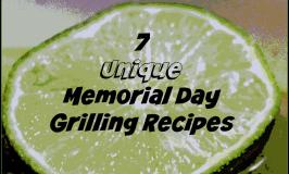 7 unique memorial day grilling recipes #grillingrecipes #memorialday #bbqparty #chosenchixhop #7onsaturday