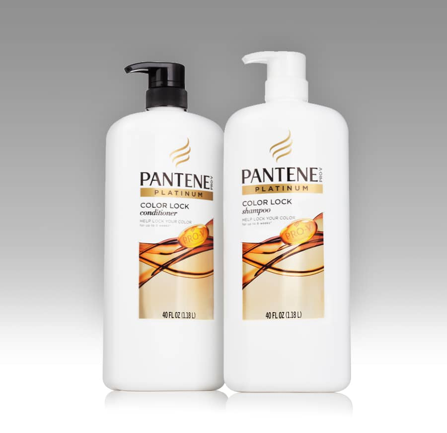 Pantene Color Lock shampoo and conditioner #PanteneAtSams #ad