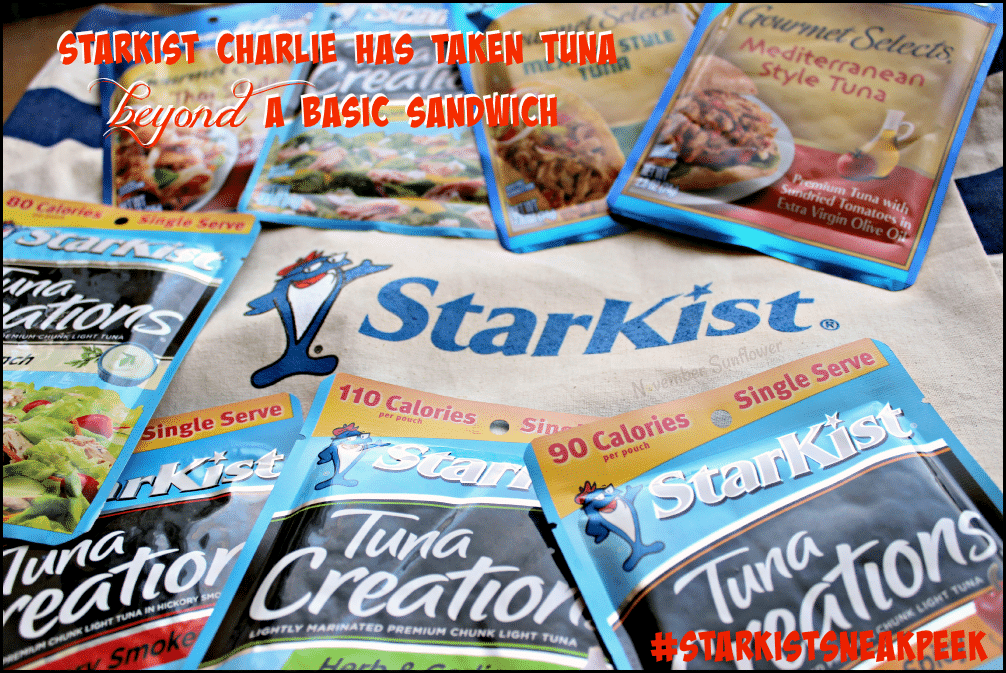 StarKist Charlie has taken tuna beyond a basic sandwich #StarKistSneakPeek #StarKistCharlie #sponsored