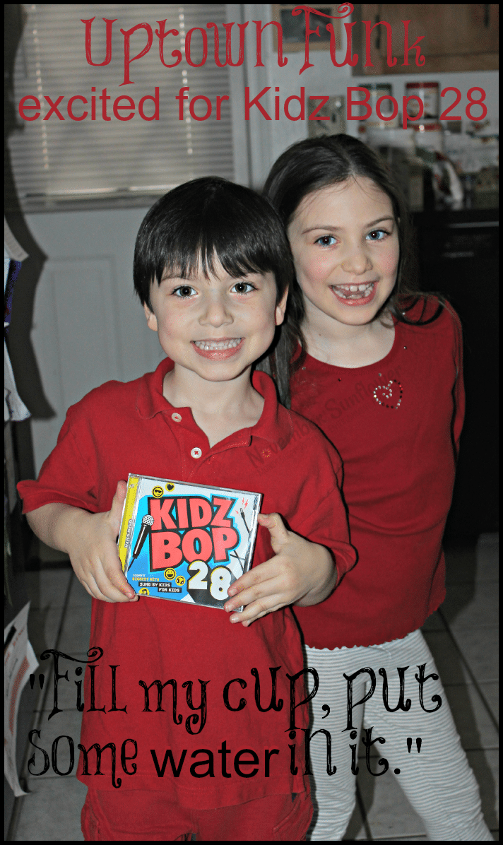 Uptown Funk excited for Kidz Bop 28 #kidzbop28 #uptownfunk #sponsored