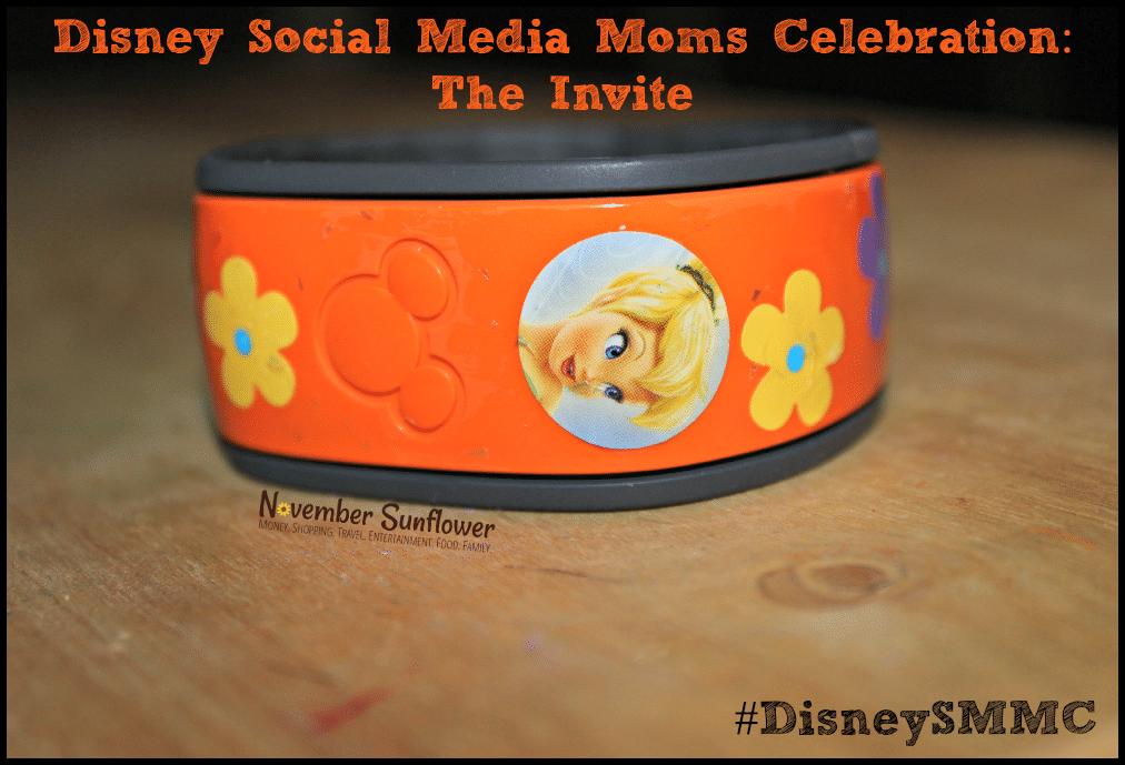 Disney Social Media Moms Celebration: The Invite #DisneySMMC #DisneySide #DisneyWorld