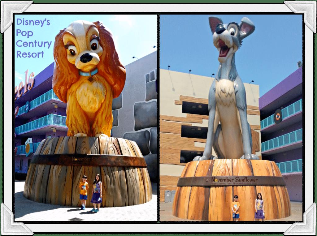 Disney's Pop Century Resort Lady & The Tramp