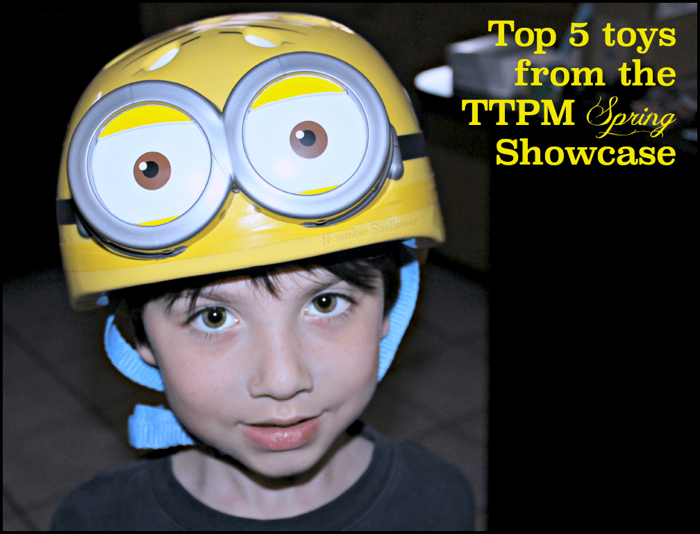 Top 5 toys from the TTPM Spring Showcase #TTPM #despicableme #toys