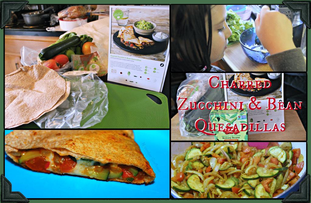 Charred Zucchini Quesadilla #HelloFresh #QuesadillaRecipe