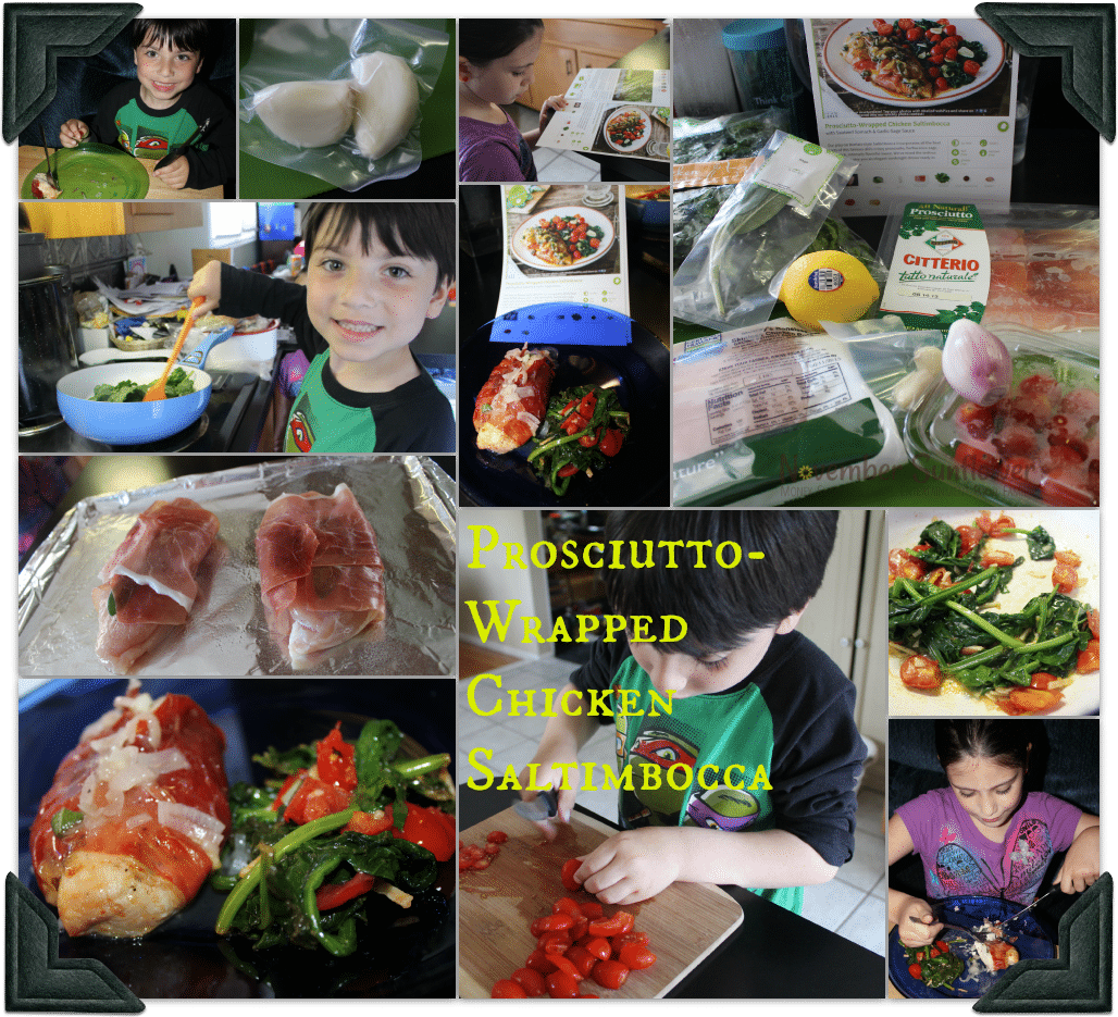 HelloFresh Prosciutto Chicken #chickenrecipe #hellofresh #subscriptionbox