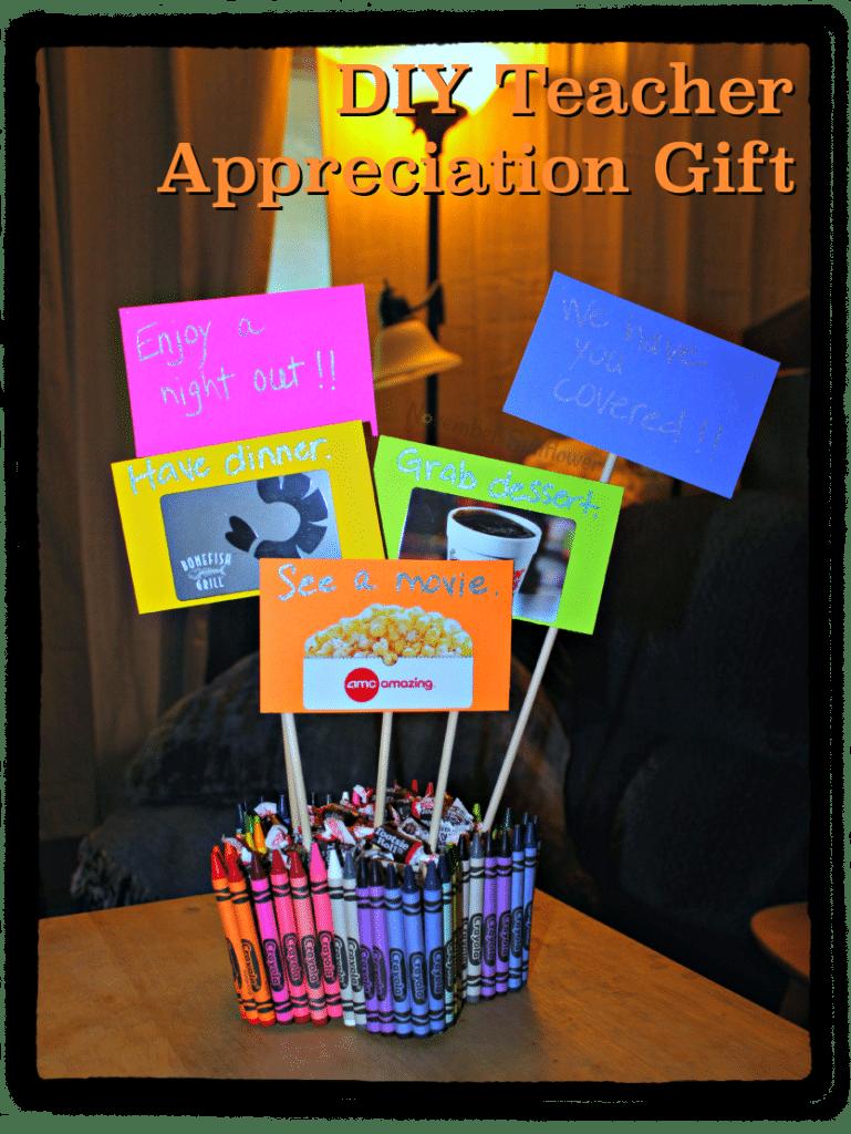 DIY Teacher Appreciation Gift #DIYProject #DIYTeacherGift