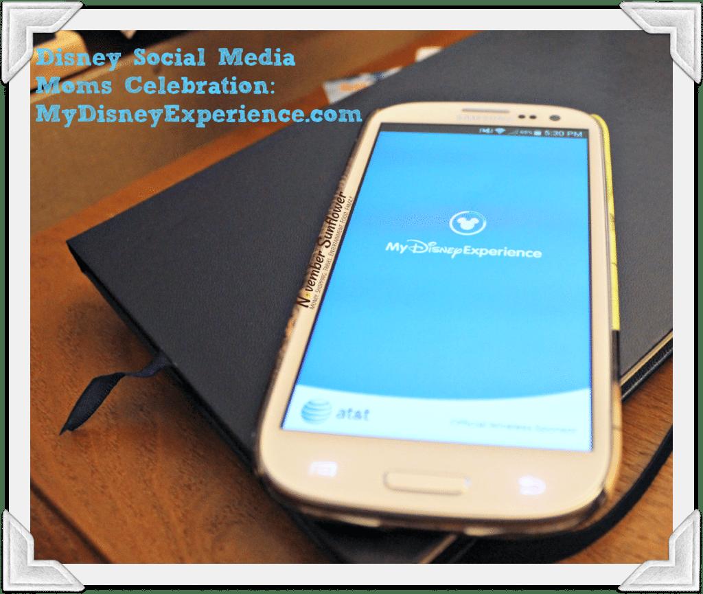 Disney Social Media Moms Celebration: MyDisneyExperience.com