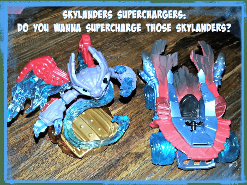 Skylanders SuperChargers #superchargers #skylanders #spitfire #hotstreak #sponsored