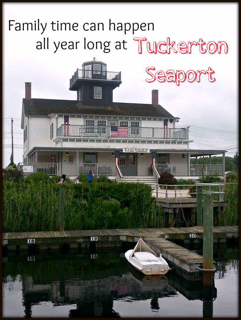 Family time can happen all year long at Tuckerton Seaport #tuckerton #vacation #jerseyshore
