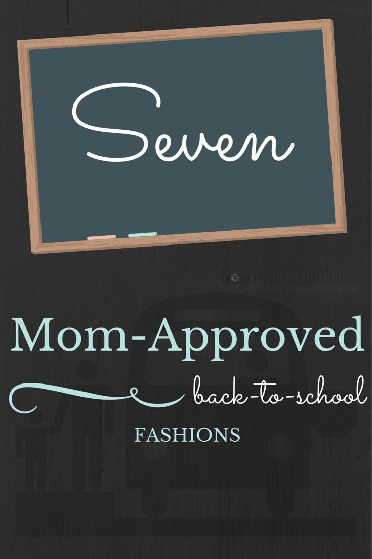 7 mom-approved BTS Fashions #BTSFashion #backtoschool #ChosenChixHop