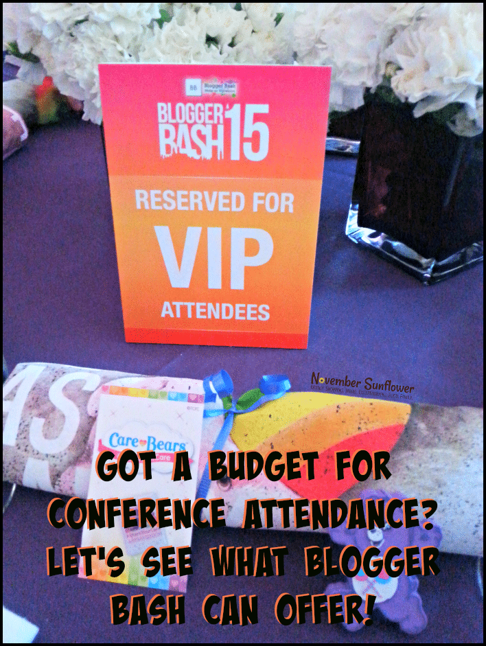Got a budget for conference attendance? Let's see what Blogger Bash can offer! #bloggerbash #BBNYC #BBNYC15 #sponsored