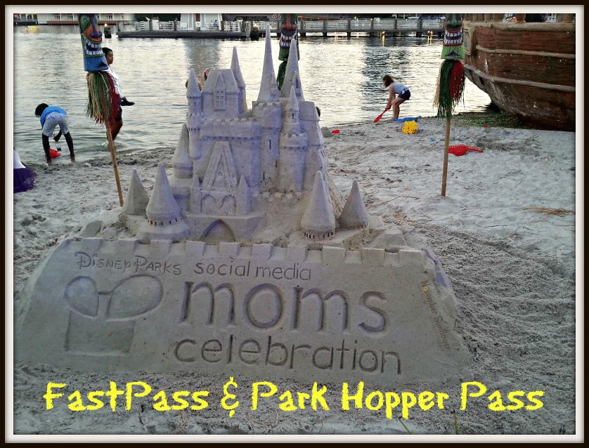 Disney Social Media Moms Celebration: FastPass & Park Hopper Pass