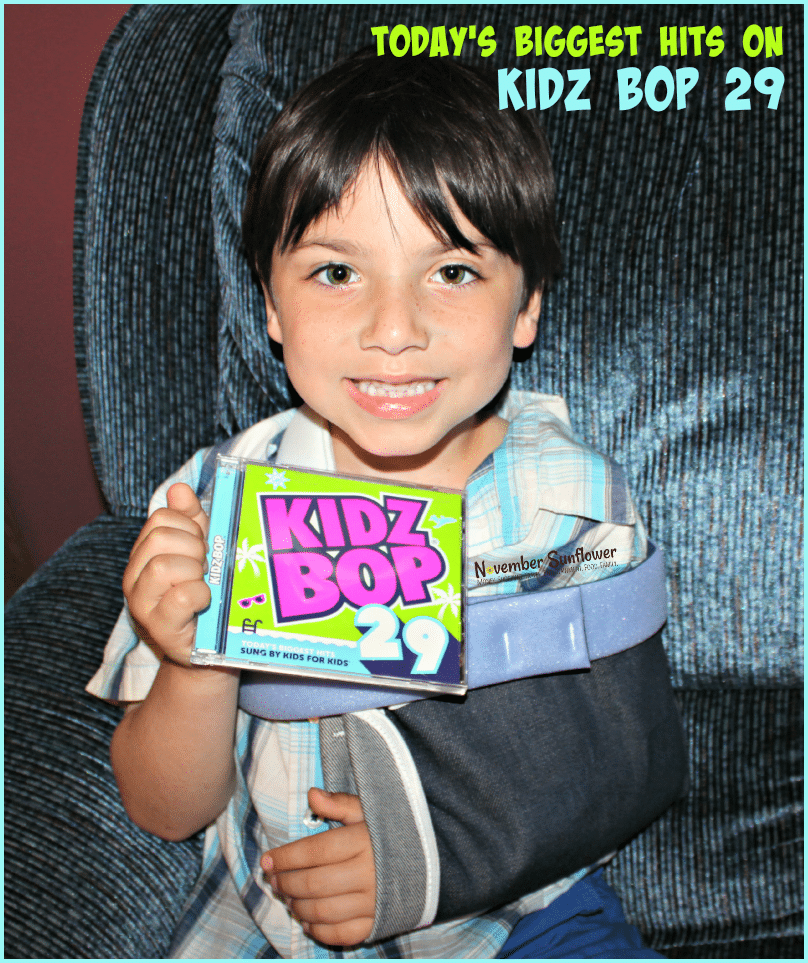 Today's biggest hits on Kidz Bop 29