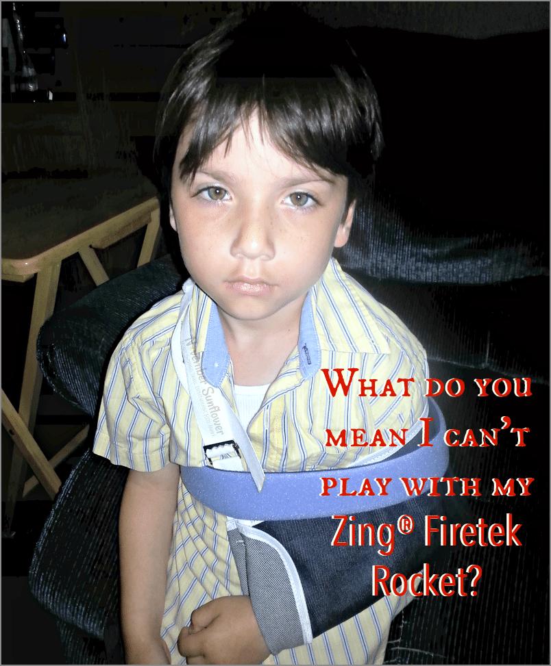 Zing Firetek Rocket #zingtoys #rocket #summertoy #sponsored