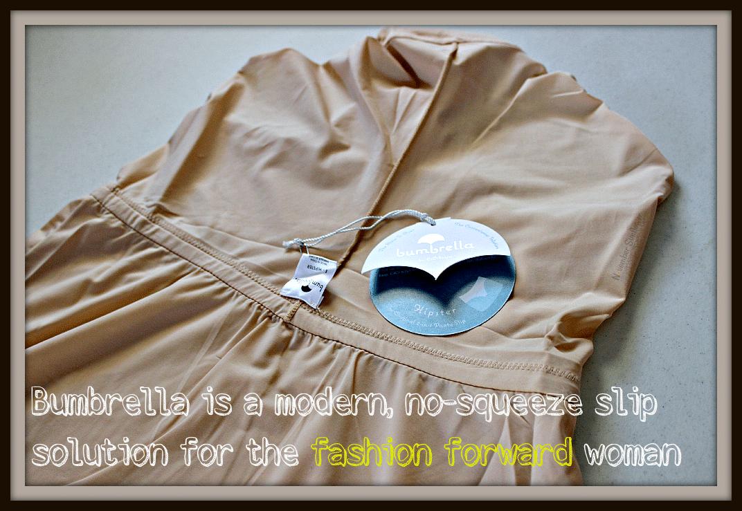 Bumbrella is a modern, no-squeeze slip solution for the fashion forward woman #fashionforward #nyfw #bumbrella