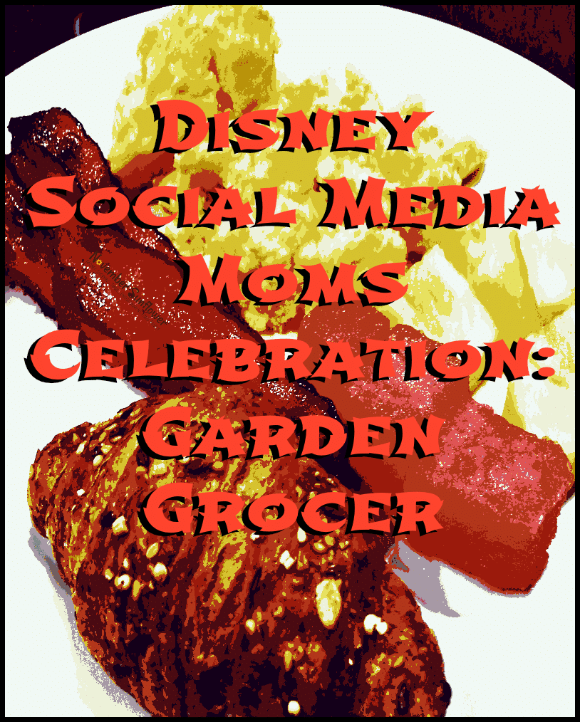 Disney Social Media Moms Celebration: Garden Grocer