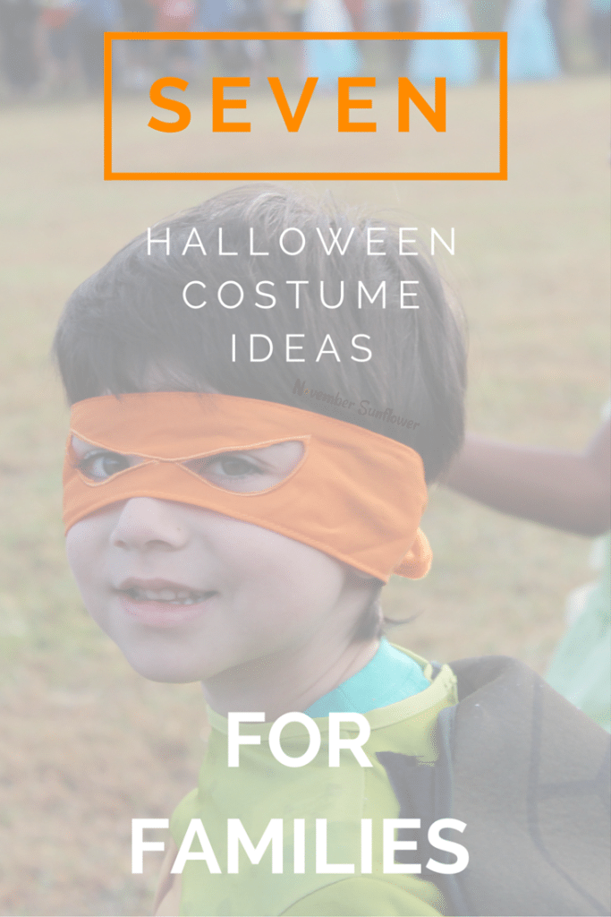 7 Halloween Costume Ideas for Families #halloween #costumes #chosenchixhop [sponsored]