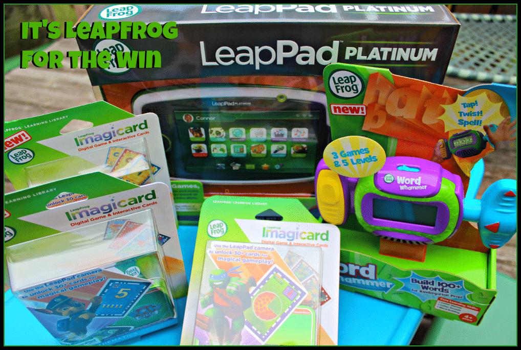 It's LeapFrog for the win #leapfrogmom #leapfrog #leappad #gotitfreeforreview
