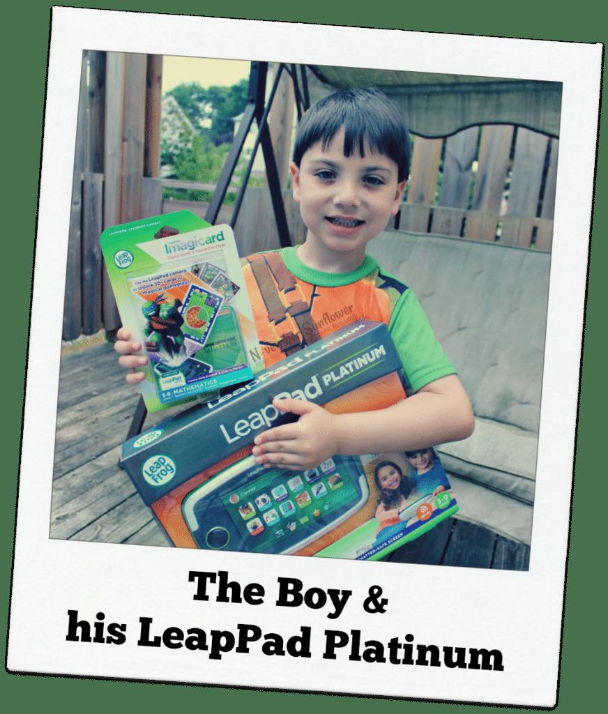 LeapPad Platinum #leappad #leapfrogmom