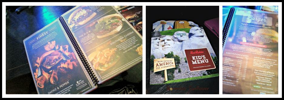 Red Robin menu items #redrobin #foodreview #gourmetburgers