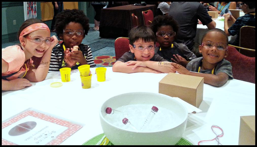 Science Camp at Family Forward #familyforward #universalmoments