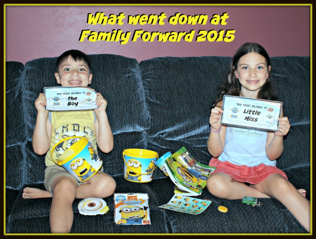 What went down at the annual Family Forward event at Universal Studios in Orlando