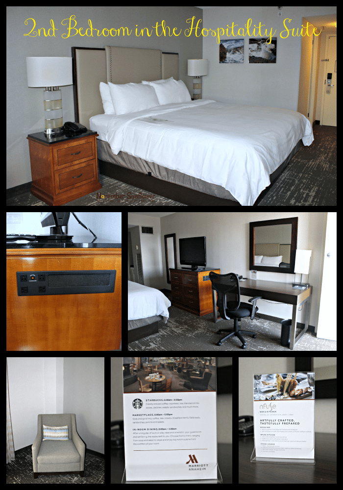 Anaheim Marriott King Bed #travelbrilliantly #travelreview #marriott