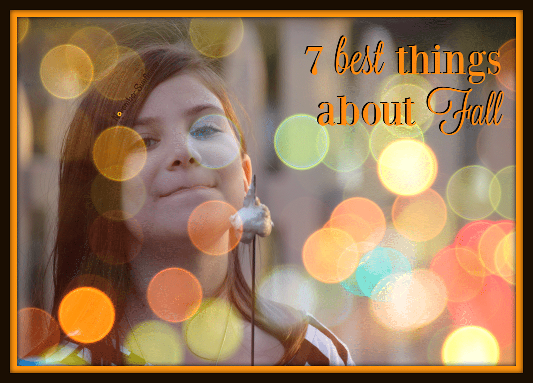 Besides the fact that both of my kids are born in fall, I'm sharing the other six best things about Fall, too! Autumn is a time of boots, sweaters and birthdays.