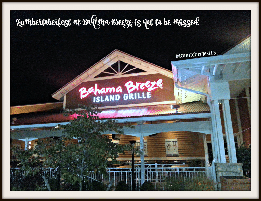 Rumtoberfest at Bahama Breeze is not to be missed #Rumtoberfest15 #bahamabreeze #foodreview #cocktails #foodie #caribbean #restaurantreview #sponsored