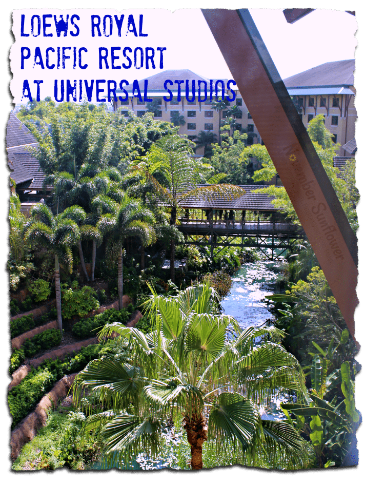 Loews Royal Pacific Resort at Universal Studios offers perks to guests