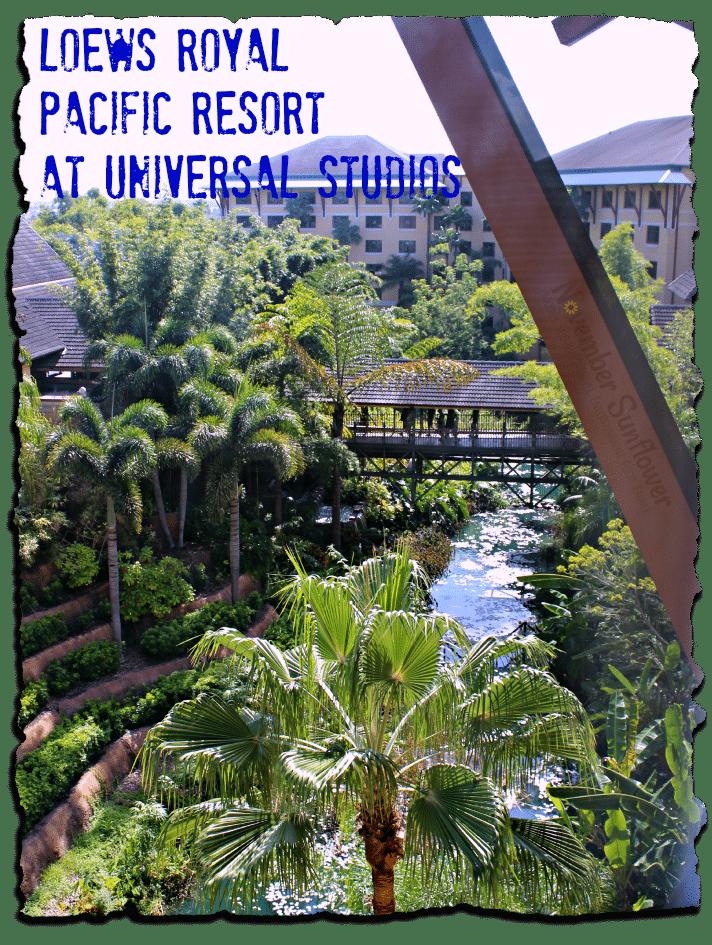 Loews Royal Pacific Resort at Universal Studios #universalstudios #loewsroyalpacific #familyforward #loewsreview #travelreview