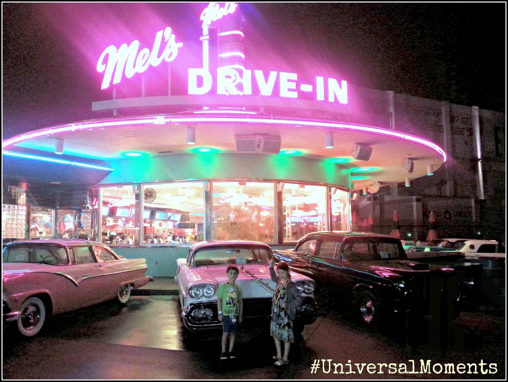 Universal Studios Mel's DIner #melsdiner #universalmoments #universalstudios
