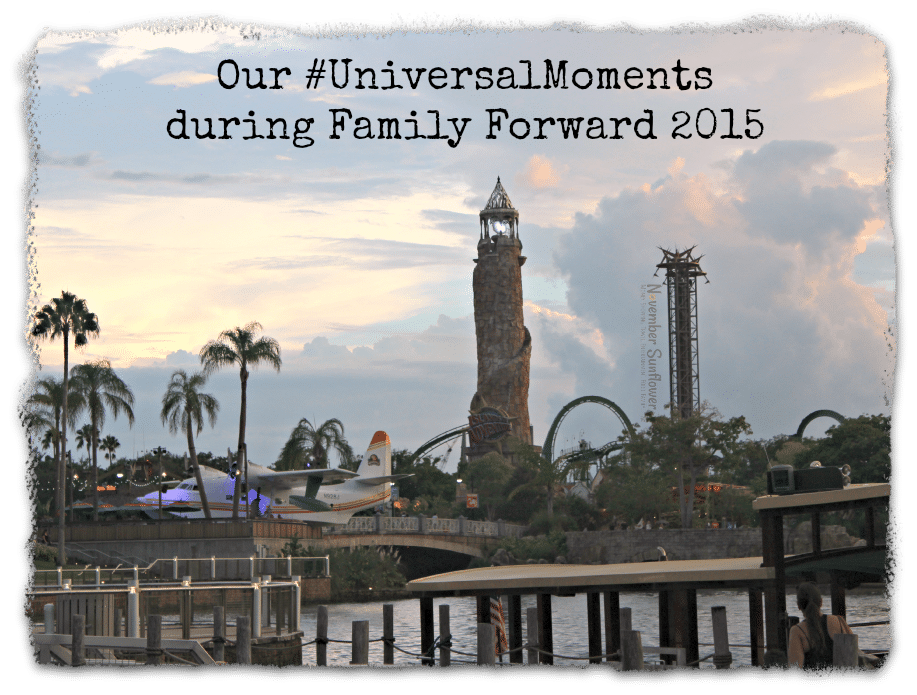 Our #UniversalMoments during #FamilyForward 2015 #universalstudios #travelreview #familyvacation #universalvacation #FamilyTravel